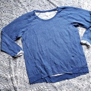 Alfani Intimates blue sweatshirt O